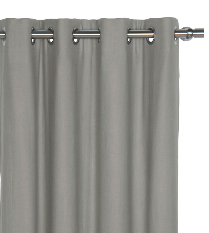 Breeze Slate Curtain Panel - ,