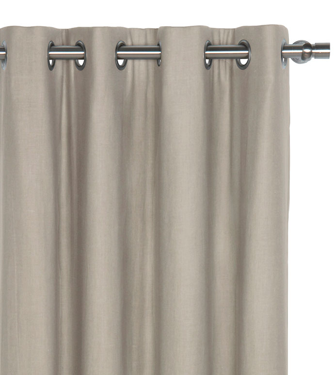Breeze Stone Curtain Panel - ,