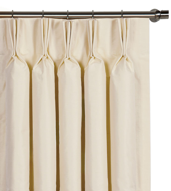 Edris Ivory Curtain Panel - ,