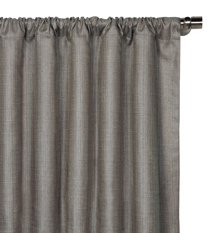 Meridian Slate Curtain Panel - ,