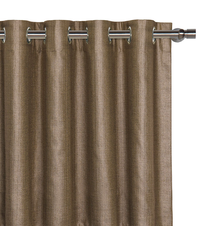 Meridian Mocha Curtain Panel - ,