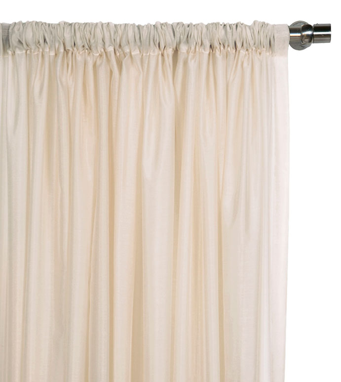 Ambiance Almond Curtain Panel - ,