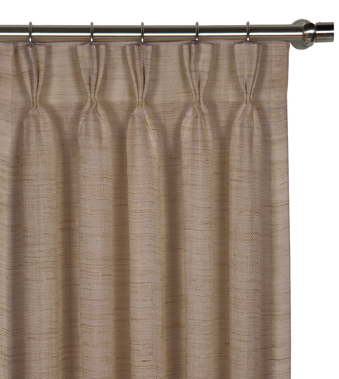 Pershing Sand Curtain Panel - ,