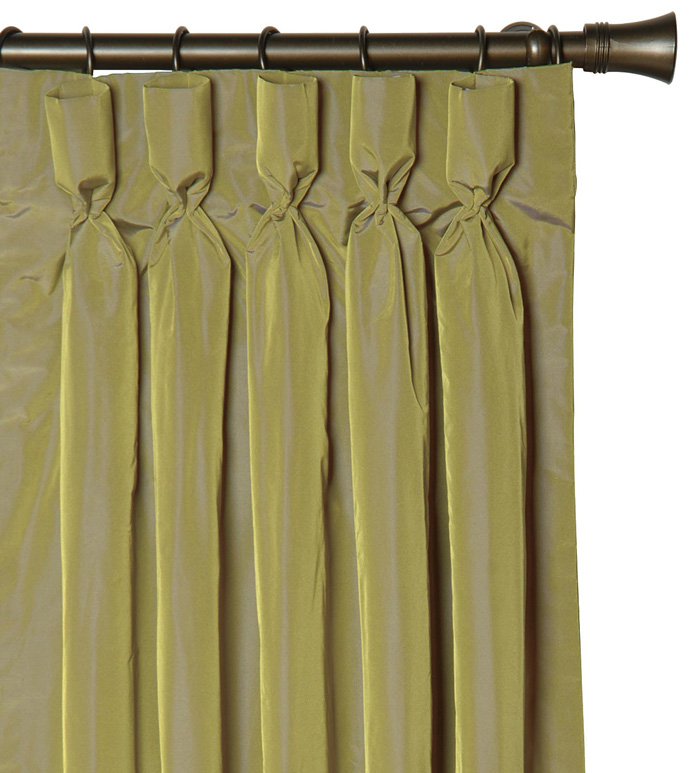 FREDA CHARTREUSE CURTAIN PANEL