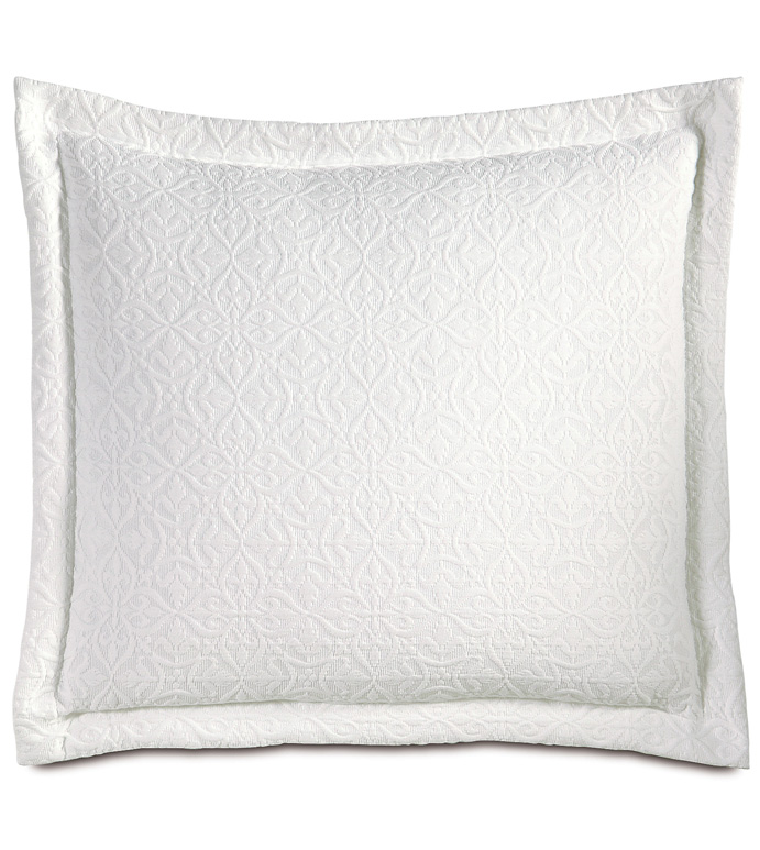 Mea White Decorative Pillow - ,