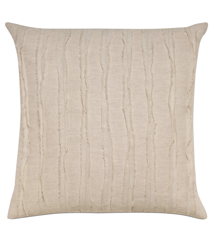 Shiloh Linen Square Decorative Pillow - ,