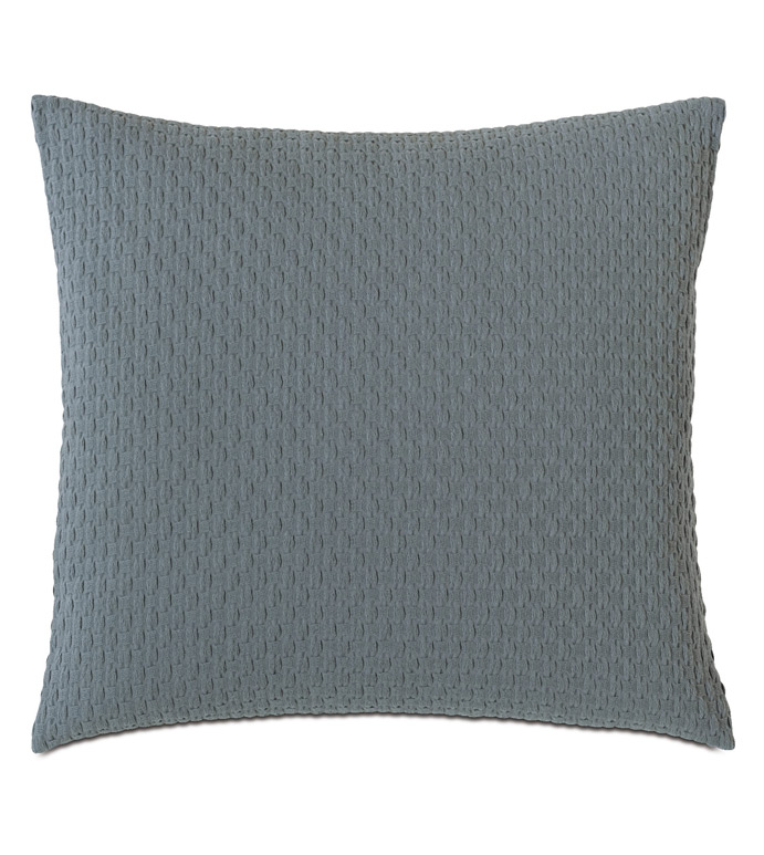 Tegan Matelasse Decorative Pillow in Teal - ,