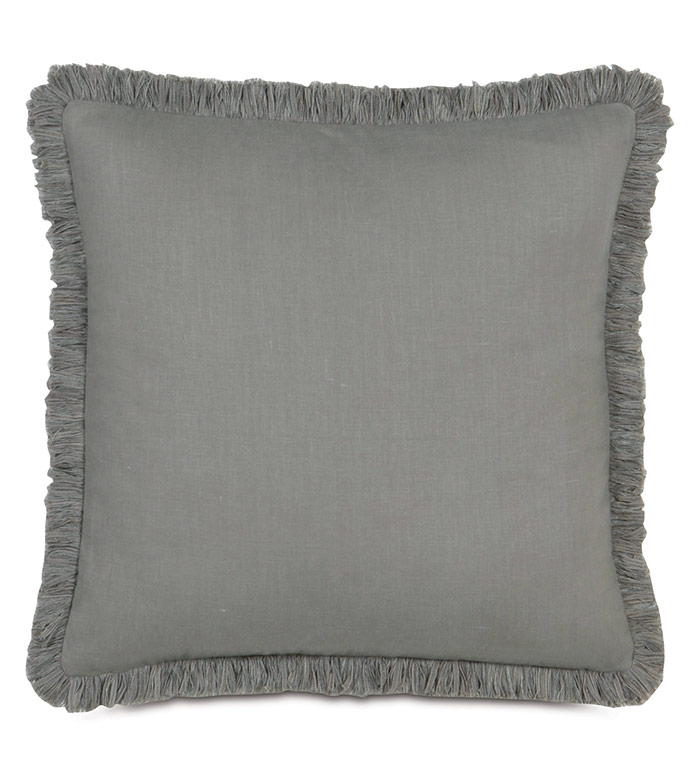 BREEZE SLATE WITH BRUSH FRINGE - ,