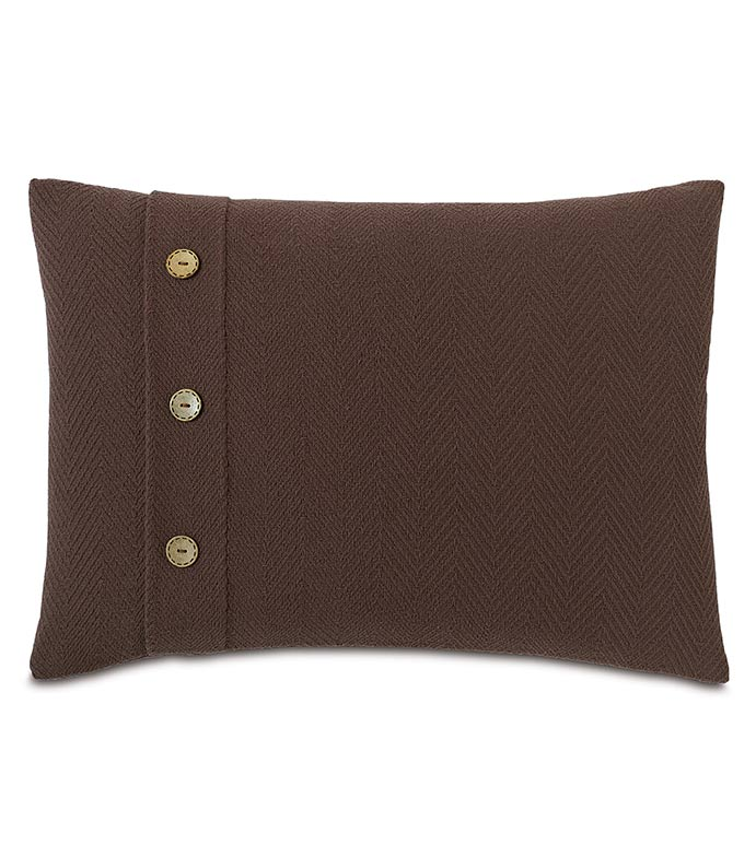 Bozeman Brown With Buttons - ,