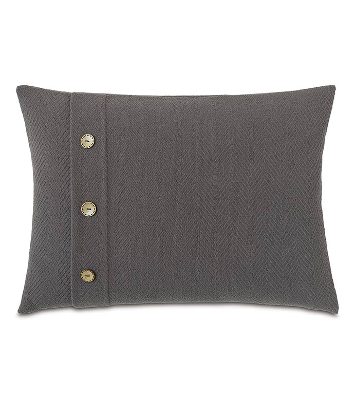 Bozeman Charcoal WITH buttons - ,