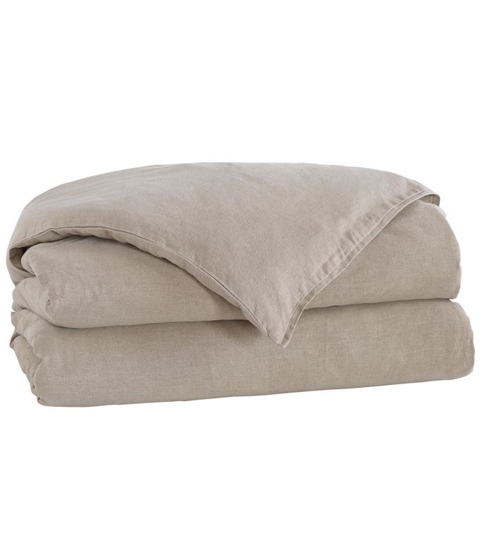 LEONARA NATURAL DUVET COVER - ,