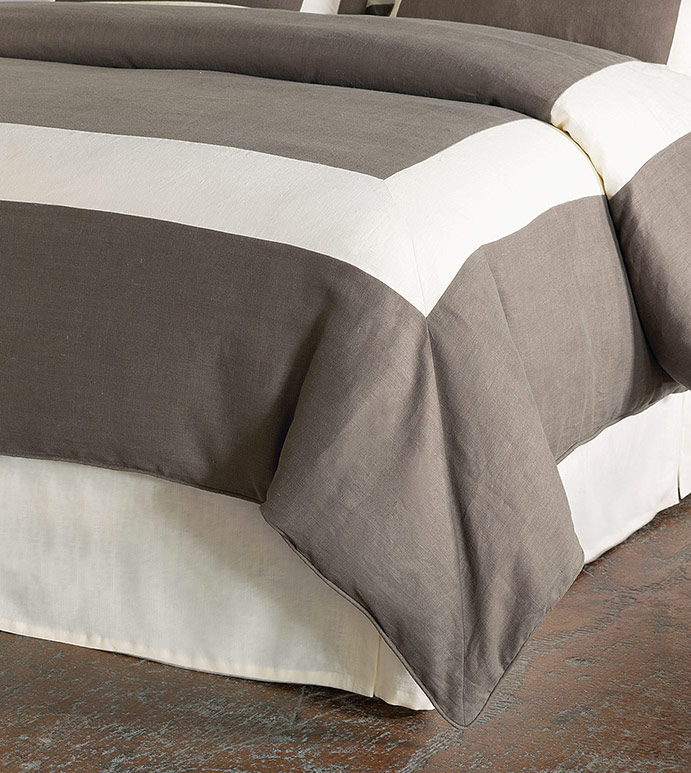 BREEZE CLAY/PEARL DUVET COVER - ,
