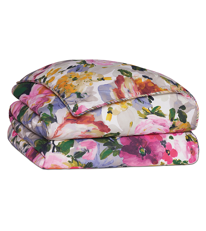Tresco Bloom Duvet Cover - ,