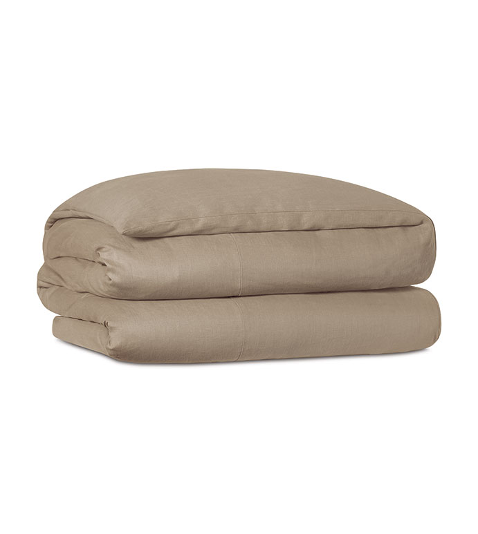 Resort Bisque Duvet Cover - ,