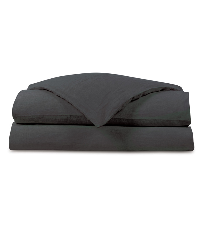 Shiloh Charcoal Duvet Cover - ,