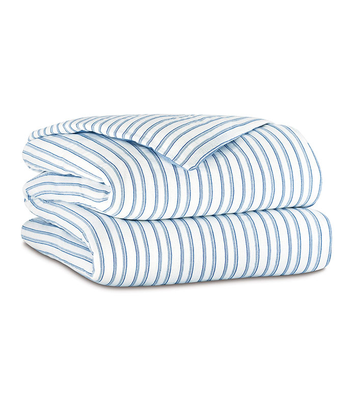 Hullabaloo Striped Duvet Cover