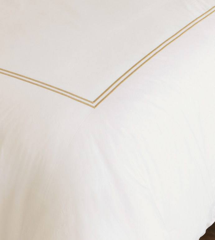 ENZO IVORY/ANTIQUE DUVET COVER - ,