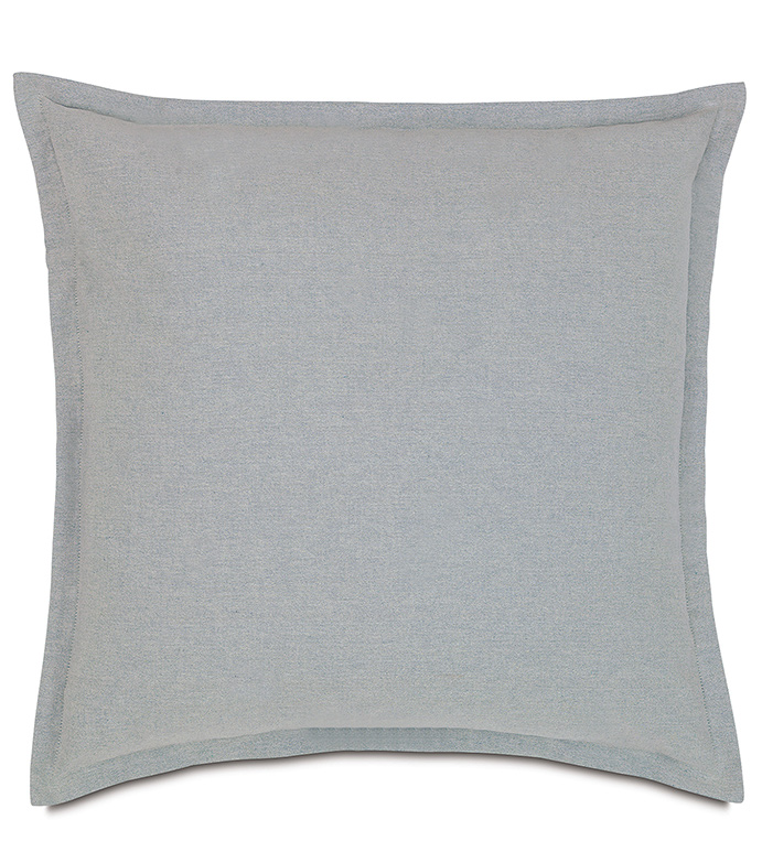 Ultrasoft Euro Square Decorative Sham Pillow White : Niche Luxury Bedding by Eastern Accents - Shelton Glaze Euro Sham