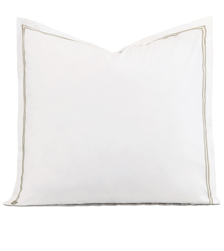 ENZO WHITE/SABLE EURO SHAM - ,