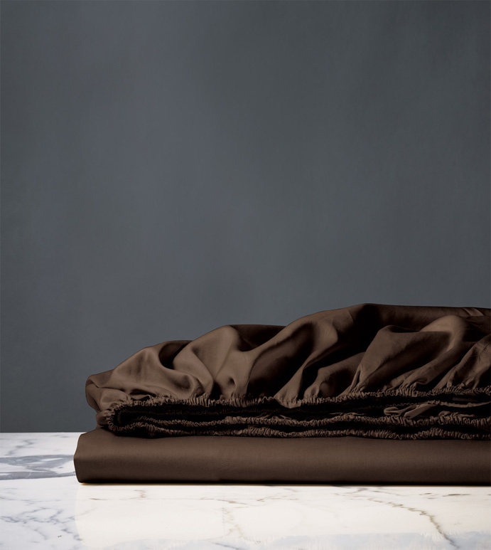 NUVOLA LUXE WALNUT FITTED SHEET