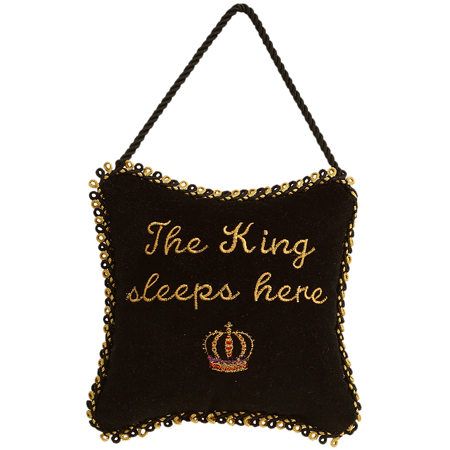 The King Sleeps Here