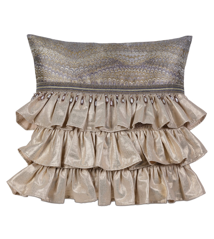 IMOGEN METAL WITH RUFFLES - ,