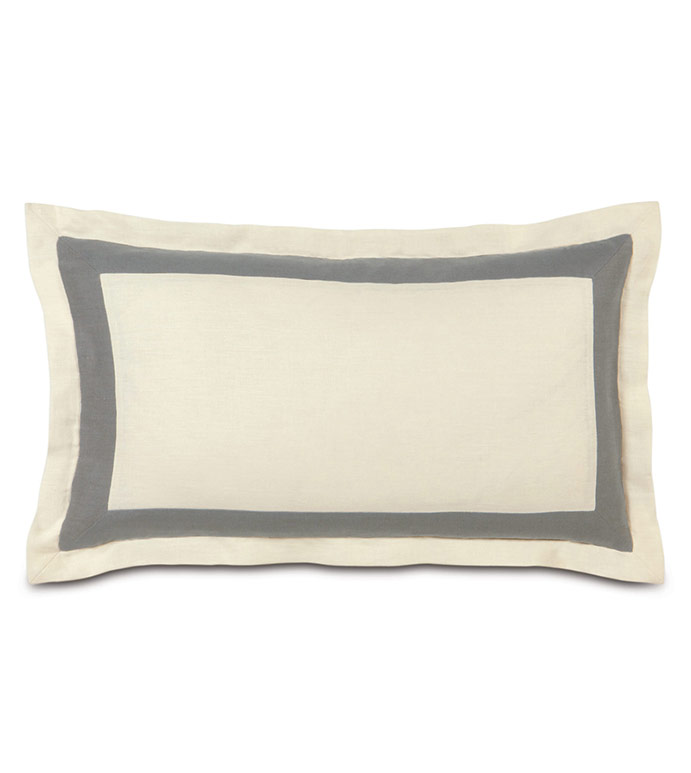 BREEZE PEARL/SLATE KING SHAM - ,