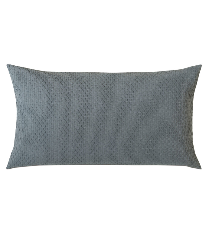 Tegan Matelasse King Sham in Teal - ,