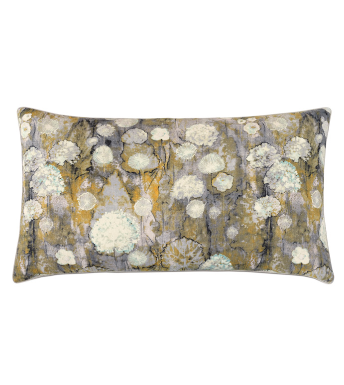 Evangeline Botanical King Sham - ACCENT PILLOW,THROW PILLOW,KING SHAM,NICHE BY EASTERN ACCENTS,MULTICOLORED,CONTEMPORARY,LINEN,BOTANICAL,WELT,