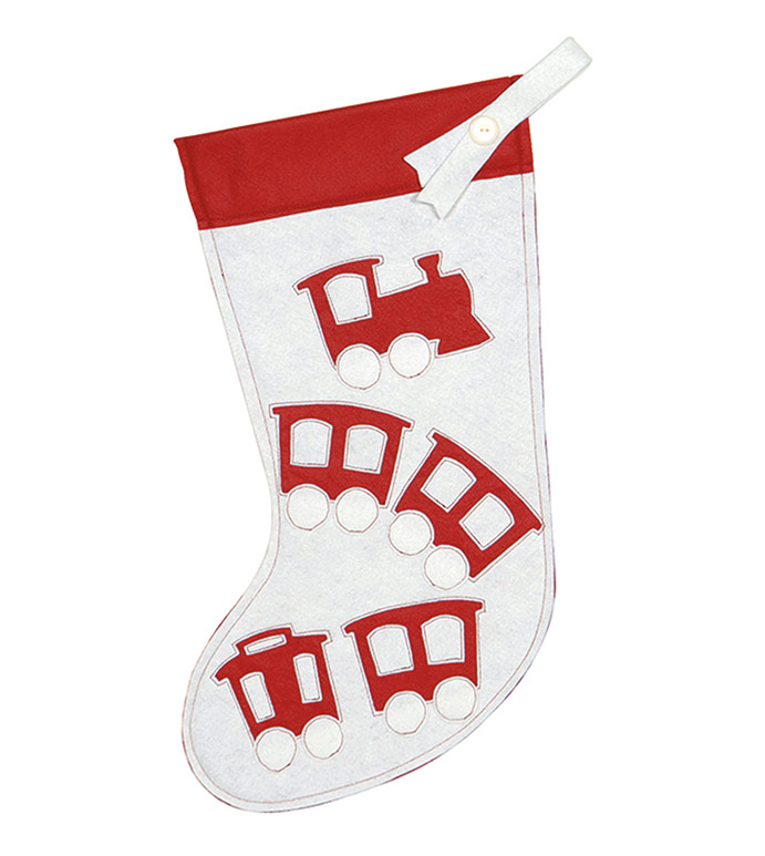 CHOO CHOO STOCKING