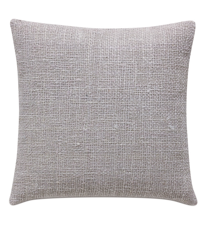Naomi Solid Accent Pillow in Lilac - ACCENT PILLOW,THROW PILLOW,ACCENT PILLOW,EASTERN ACCENTS,LILAC,GLAM,TEXTURED,SOLID,KNIFE EDGE FINISHING,