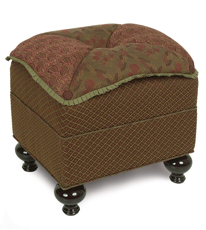 AMELIE PILLOW TOP OTTOMAN