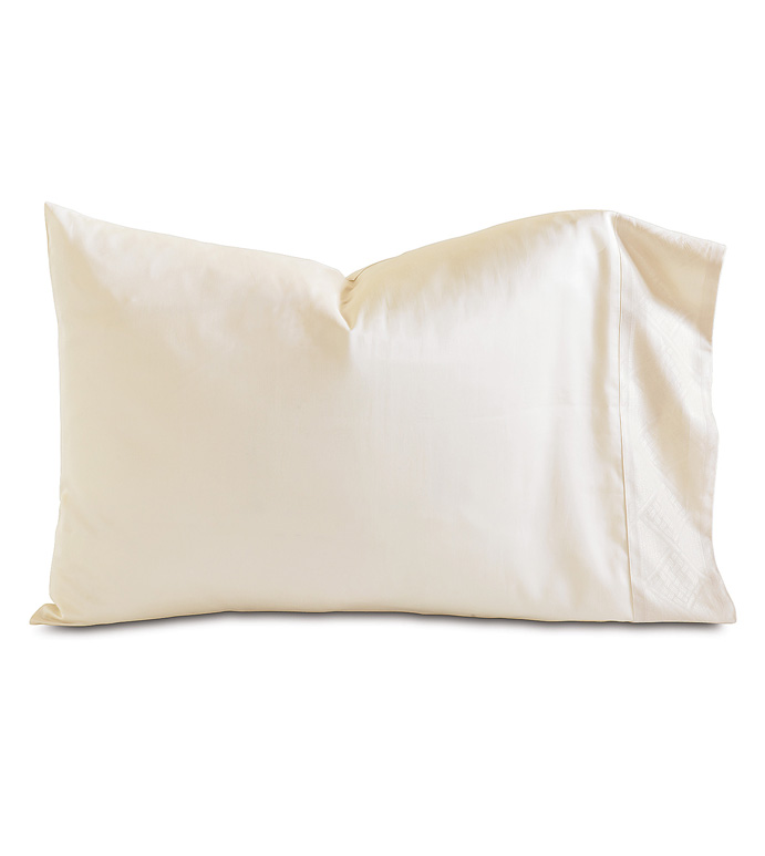 ISOLA ECRU PILLOWCASE