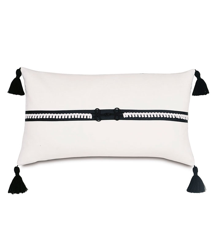 Baldwin White WITH tassels - ,