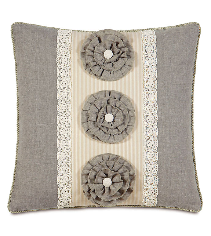 Heirloom Vanilla insert - PILLOW,TRADITONAL PILLOW,LACE PILLOW,THROW PILLOW,SQUARE PILLOW,CUSTOMIZABLE PILLOW,DOUBLE SIDED PILLOW,WHIMSICAL PILLOW,HIGH END PILLOW,FLEURET PILLOW,FEMINE PILLOW,ACCENT PILLOW