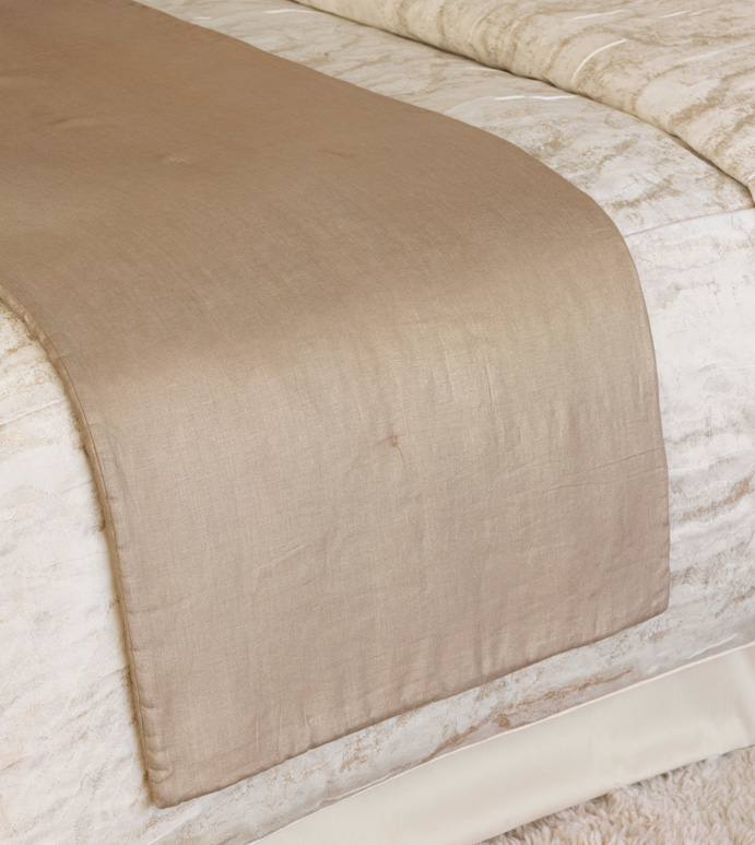 AERIEL GOLD BED SCARF