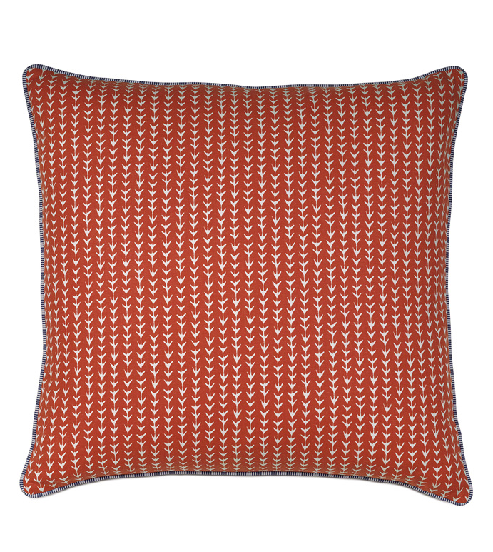 ZIGGY TOMATO WITH SMALL WELT - PILLOW,RED PILLOW,TOSS CUSHION,THROW PILLOW,SQUARE PILLOW,JUVENILE PILLOW,CUSTOMIZABLE PILLOW,DOUBLE SIDED PILLOW,WHIMSICAL PILLOW,ACCENT PILLOW,CLASSIC PILLOW,GEOMETRIC PILLOW
