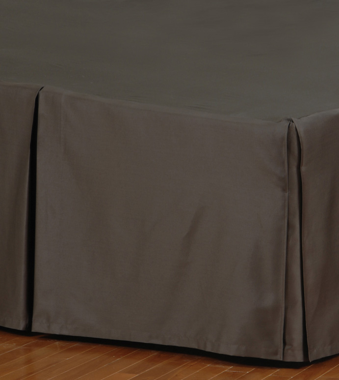 FRESCO CLASSIC WALNUT PLEATED BED SKIRT