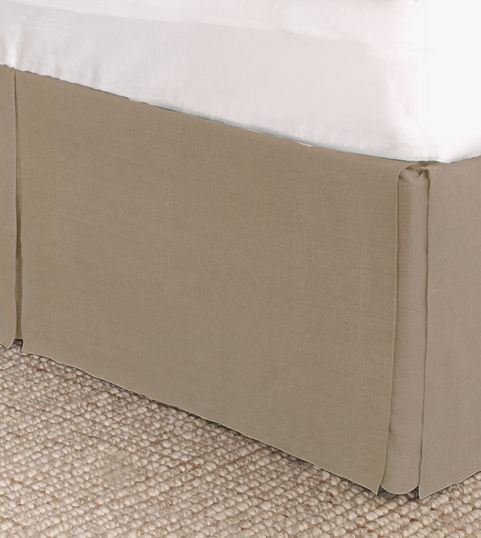 Resort Bisque Bed Skirt - ,