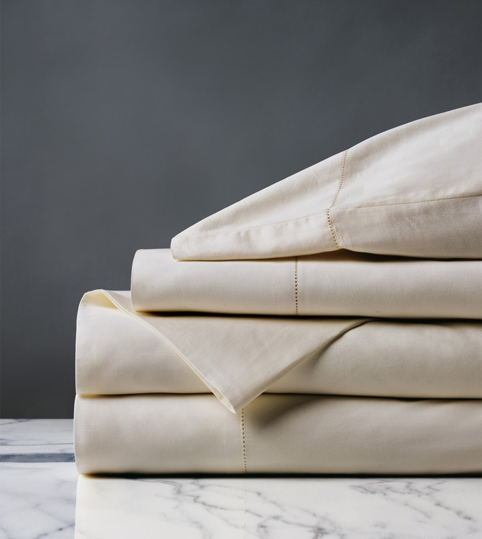 ROMA LUXE ECRU SHEET SET