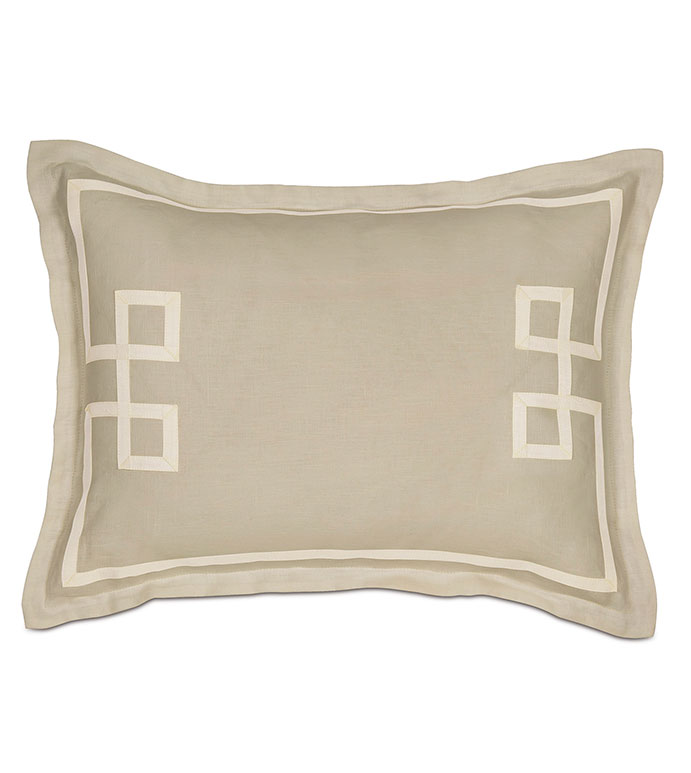Resort Bisque Fret Standard Sham - ,