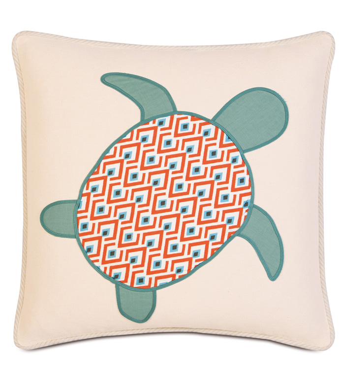 Lobel Reef Turtle applique - ,