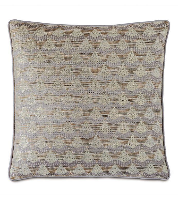 Silvio Metallic Decorative Pillow