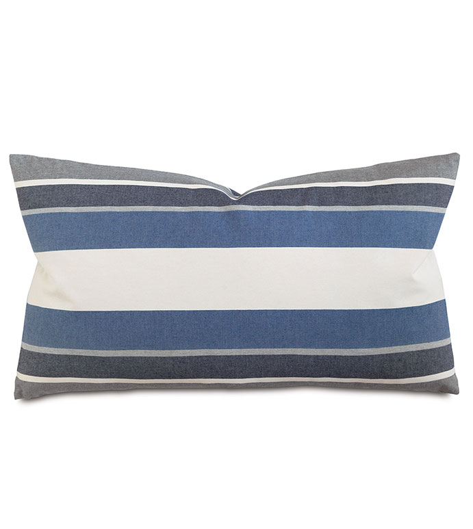 Bertrand Denim King Sham - ,