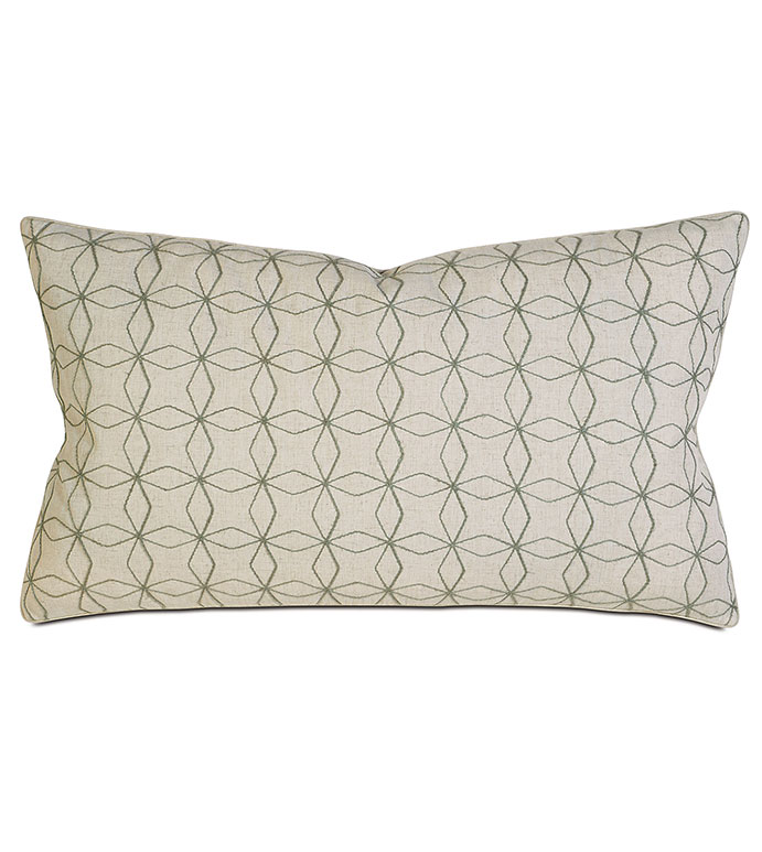 Decorative King Pillow Shams : Thom Filicia Luxury Bedding by Eastern Accents - Ingram Jade King Sham