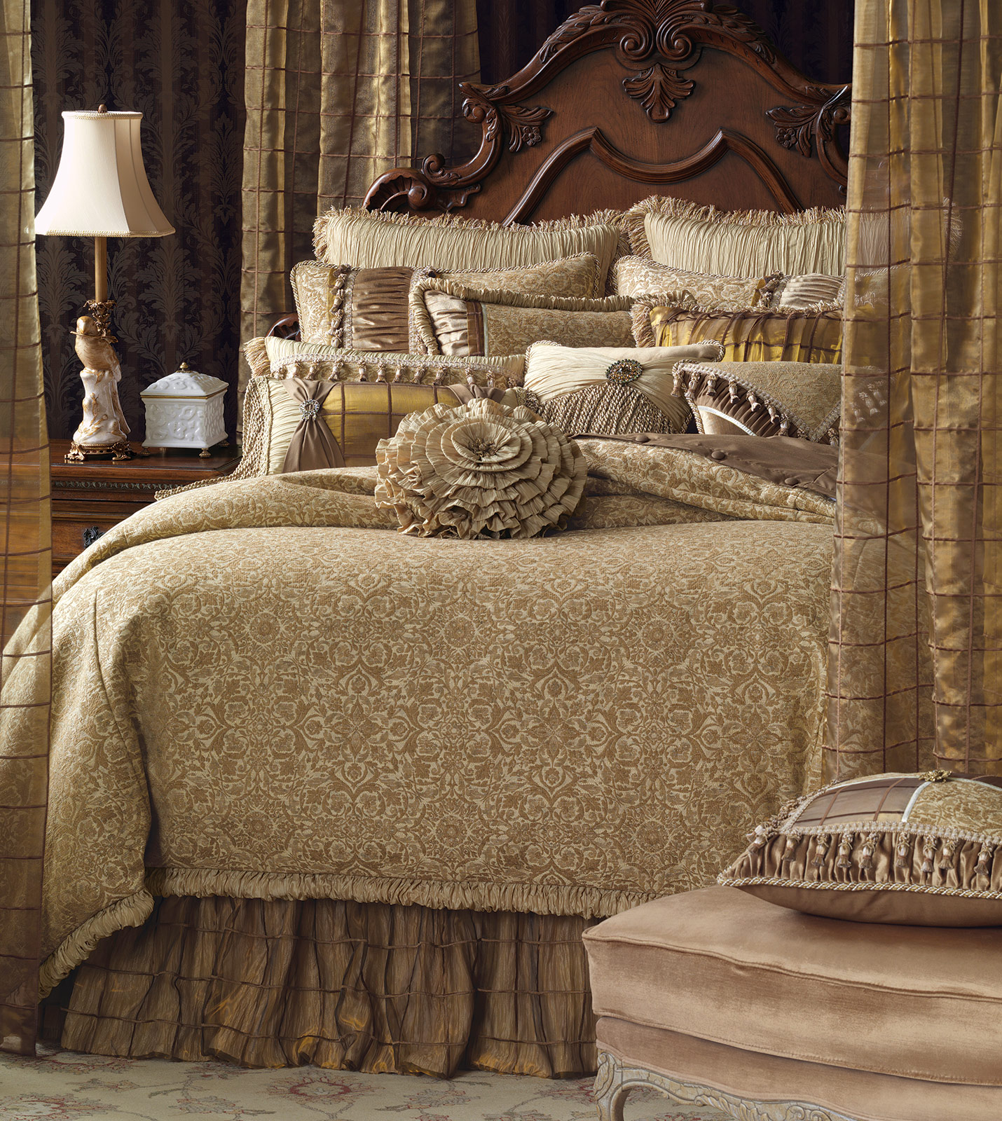Marquise Luxury Bedding By Eastern Accents Joliet Collection