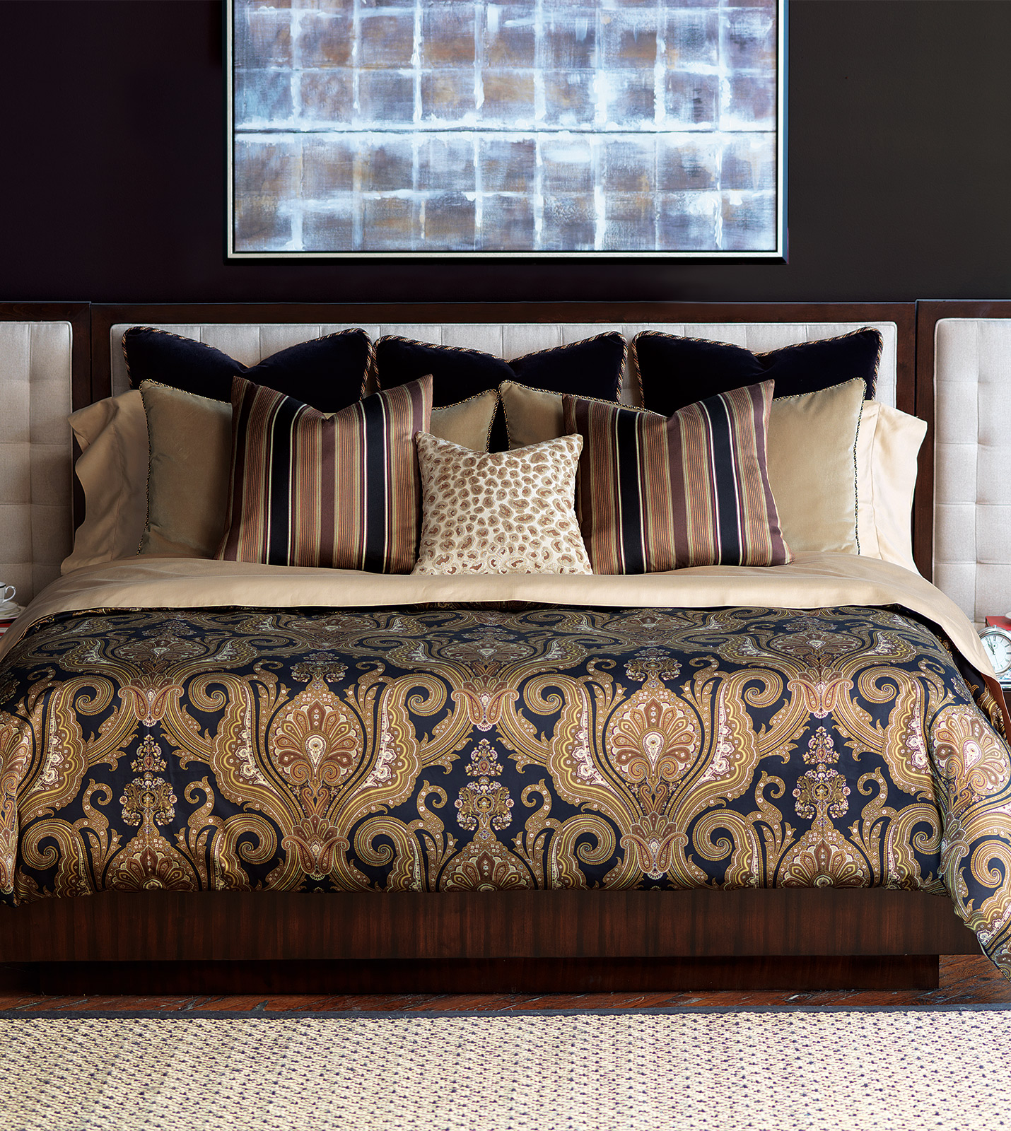 Barclay Butera Luxury Bedding By Eastern Accents Velvet