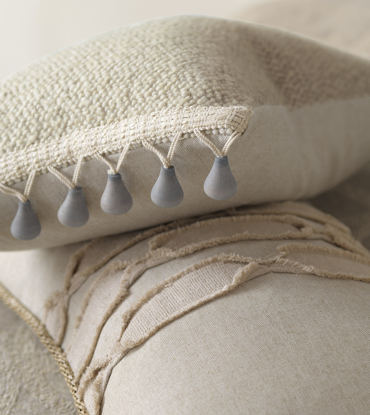 how to create a comforter with two different diverts