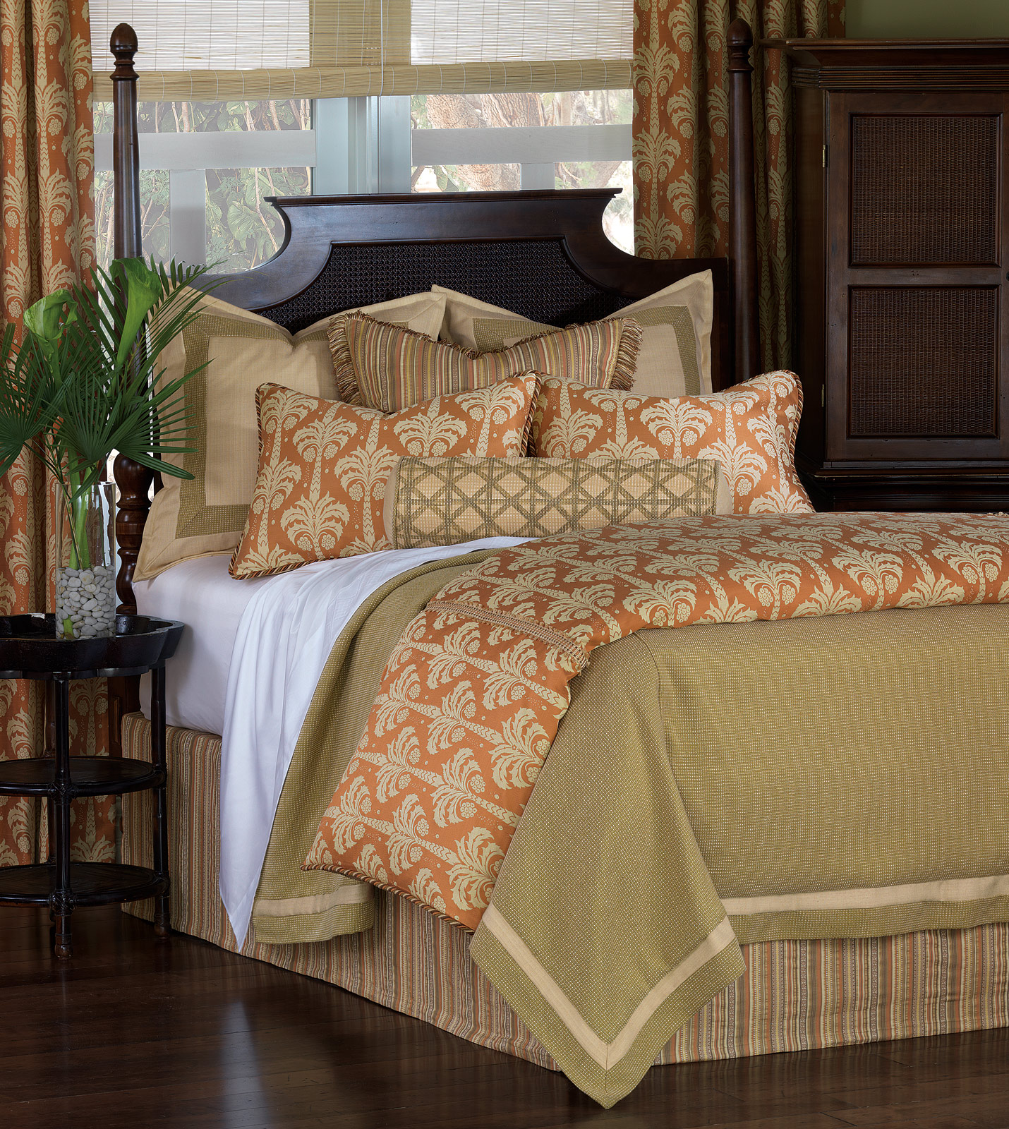 Luxury Bedding By Eastern Accents Kiawah Bedset