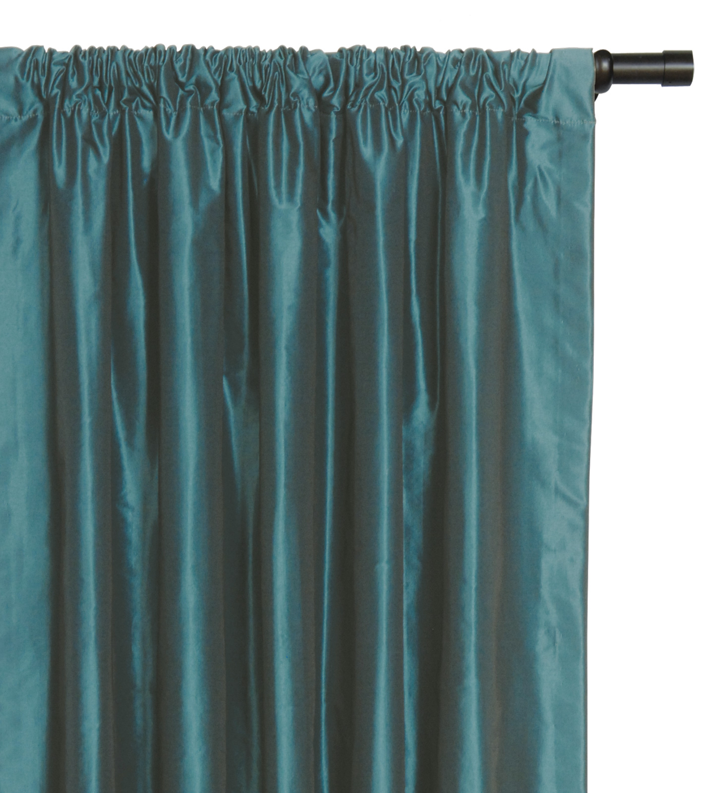 Luxury Bedding by Eastern Accents - FREDA TEAL CURTAIN PANEL